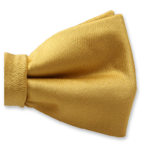 Kinderfliege Gold - Polyester Satin (2)