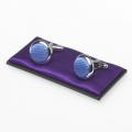 Manschettenknöpfe blau