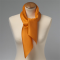Tuch orange 70x70 seide